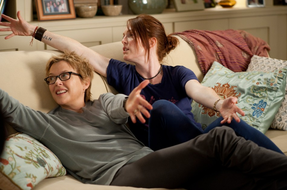Julianne Moore and Annette Bening